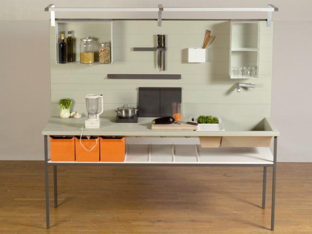 la cuisine du futur cologique compacte et modulable. Black Bedroom Furniture Sets. Home Design Ideas