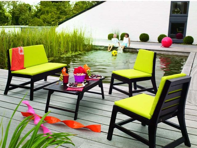 Le mobilier outdoor version enfant for Meubles jardiland