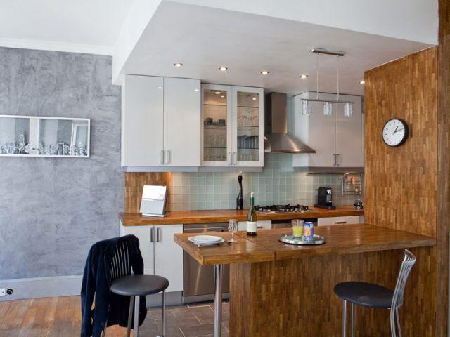 La m tamorphose d 39 un couloir de 7m2 en cuisine for Cuisine 7m2