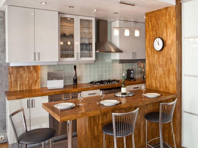 La m tamorphose d 39 un couloir de 7m2 en cuisine for Cuisine couloir moderne