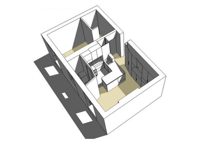 un deux pièces de 30 m2 optimisé