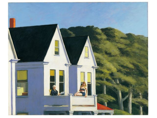 Sc nes de la vie ordinaire selon edward hopper - Edward hopper maison ...