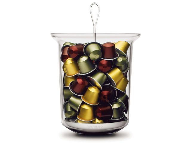 Des rangements originaux pour les capsules de caf - Porte capsules nespresso mural ...