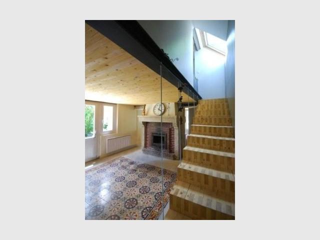 R habilitation et extension souffle contemporain sur une maison ancienne - Reportage renovation maison ...
