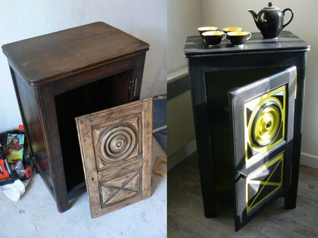 Pas pas relooking d 39 un vieux meuble breton - Relooking vieux meubles ...