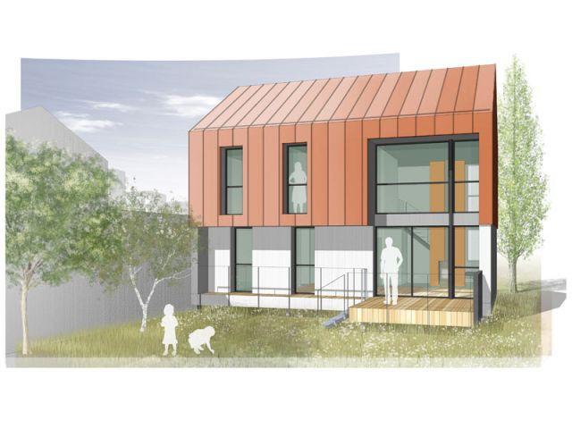 une maison bois basse consommation fruit d 39 une offre in dite en maison individuelle. Black Bedroom Furniture Sets. Home Design Ideas