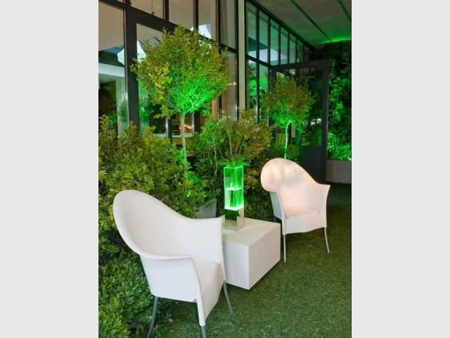 Un mobilier design pour un jardin moderne - Jardin éphémère