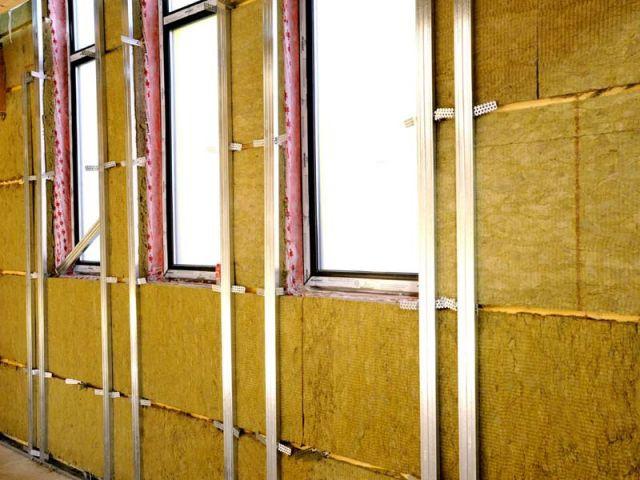 Isolation des murs côté intérieur - Isolation Rockwool Eco-logis