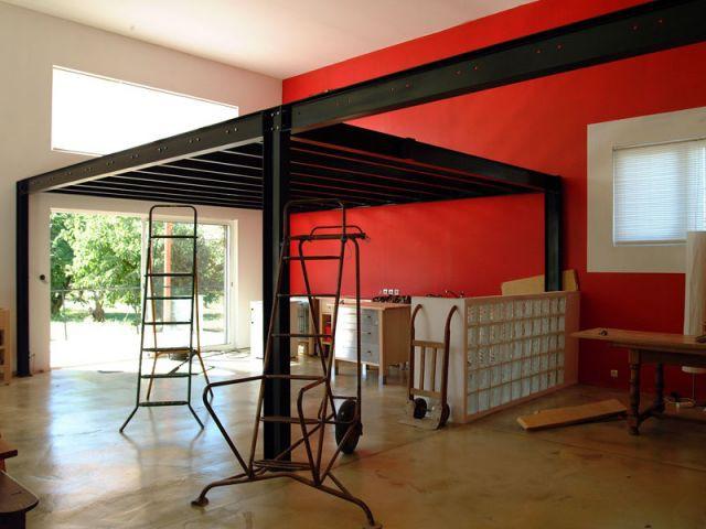 Le hangar agricole un espace id al pour un loft - Maison dans hangar metallique ...