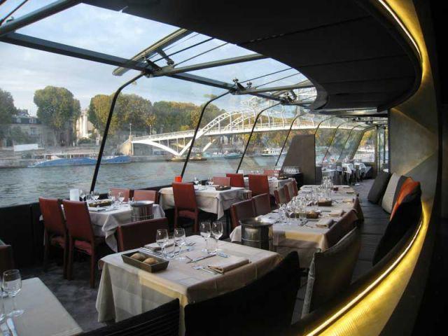 Des loges cocons pour un bateau restaurant de croisi re - Bateaux parisiens port de la bourdonnais horaires ...