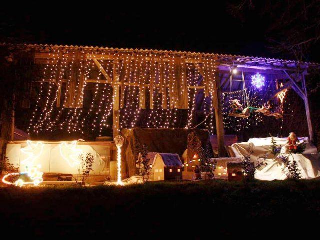 La grange - Noel maison illuminée 2010