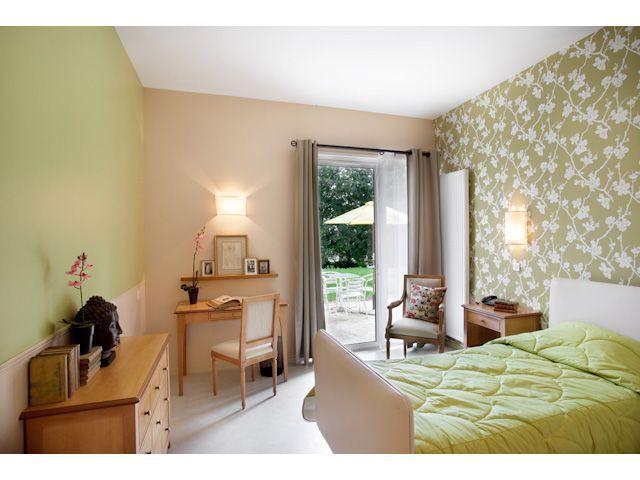 Chambre verte - Villa Beausoleil