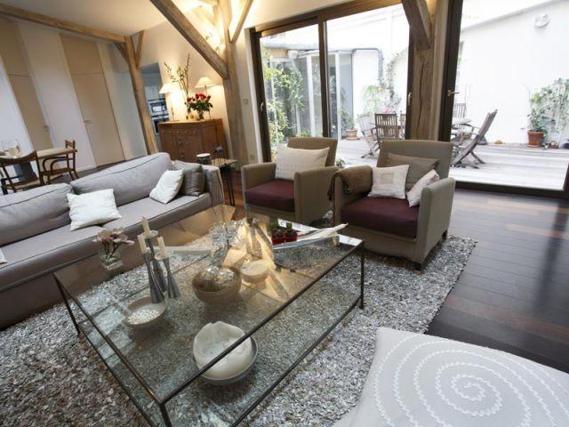 Salon - Appartement terrasse