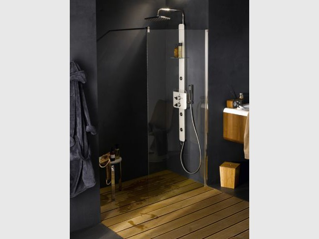 tout savoir sur la douche l 39 italienne. Black Bedroom Furniture Sets. Home Design Ideas