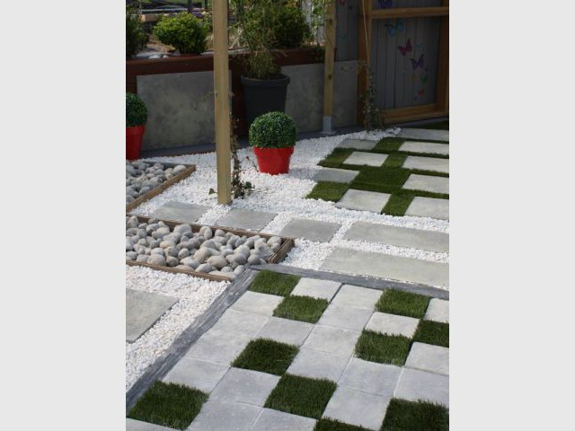 Amenager Son Jardin. Cheap Beautiful Amenager Son Jardin A L Ombre ...
