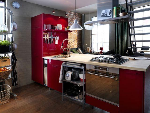 12 cuisines styl es moins de euros. Black Bedroom Furniture Sets. Home Design Ideas