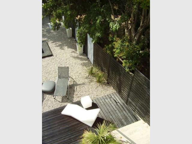 Tableau noir & blanc - Cardinal Jardin