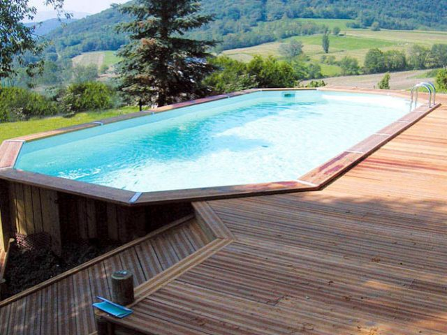 10 piscines hors sol rapides installer for Beaver pool piscine