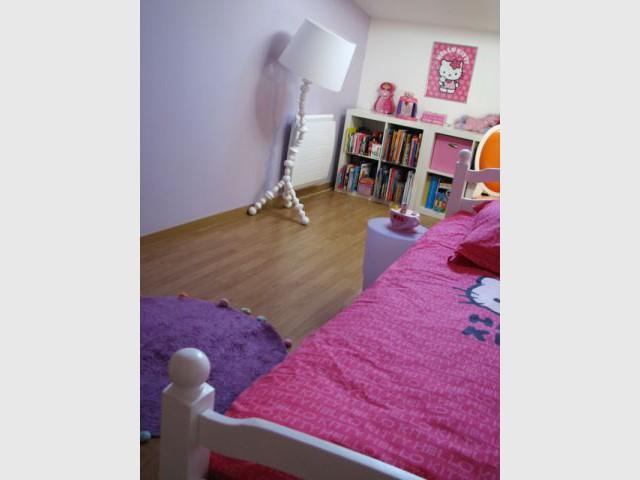 Une chambre de petite fille subtilement d cor e for Chambre decoree