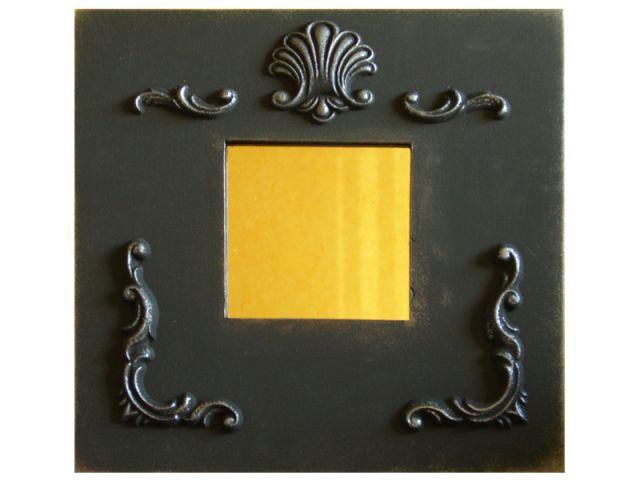 Autre idée : miroir baroque noir - Les Ateliers de Mireia