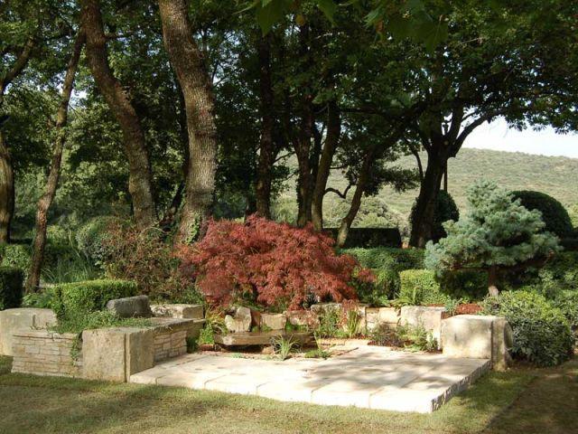 Une construction au diapason avec son environnement - Reportage jardin Grimaldi