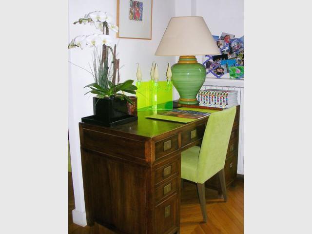1 appartement cocon moderne et d 39 inspiration asiatique for Meuble asiatique ancien
