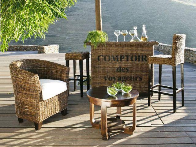 dix terrasses dix ambiances maisonapart. Black Bedroom Furniture Sets. Home Design Ideas