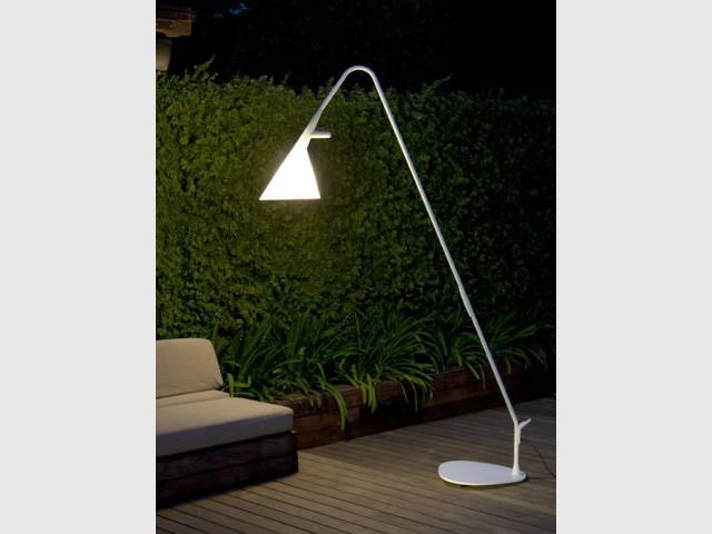 Lumière sur le jardin