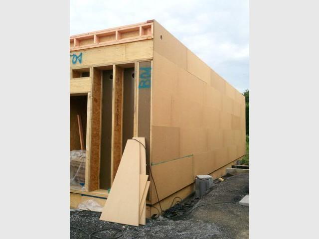 Maison passive - Pare-pluie - Maison passive Neuville en Ferrain