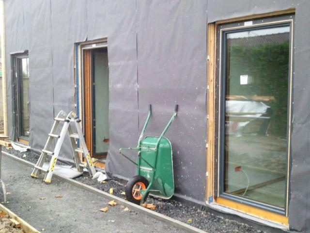 Une maison bien isolée et des matériaux écologiques - Maison passive Neuville en Ferrain