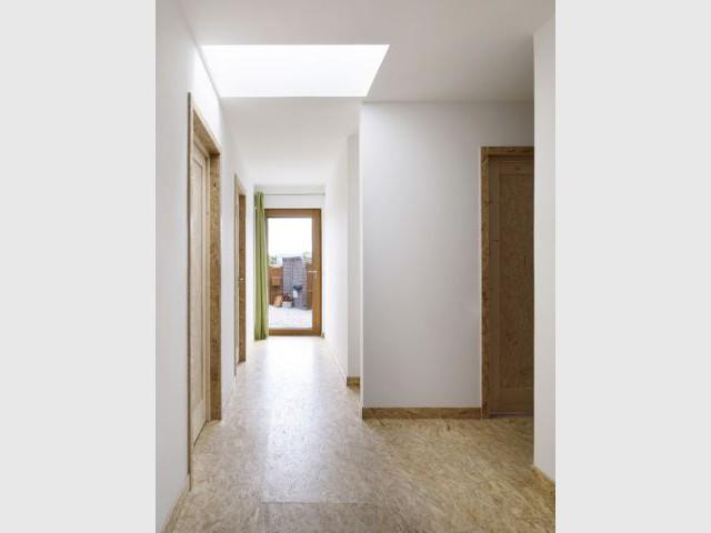Maison passive - Hall d'entrée - Maison passive Neuville en Ferrain