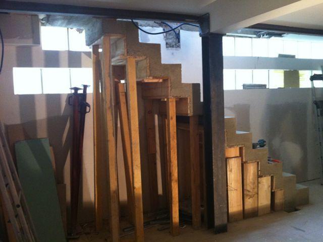 Construction escalier - Christelle Serres-Chabrier