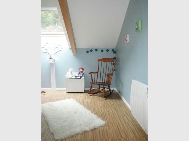 Chambre de bébé - Chaise à bascule - Reportage chambre enfant
