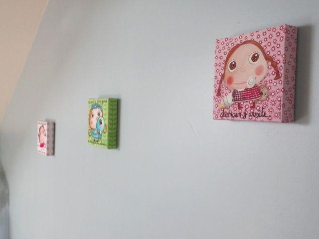 Chambre de bébé - Détail des tableaux - Reportage chambre enfant
