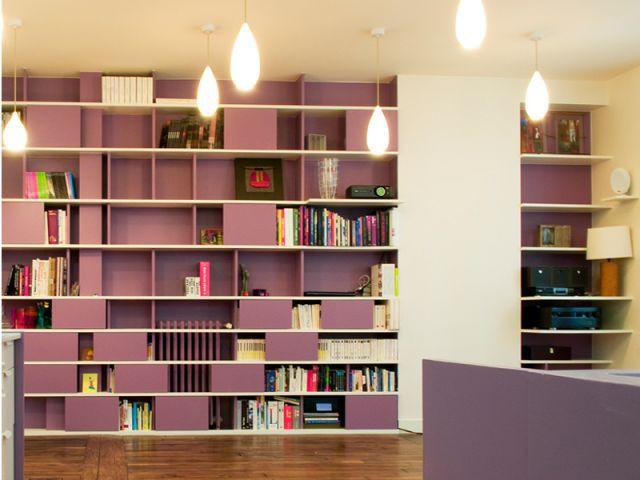 Meuble Bibliothèque - Appartement couleurs