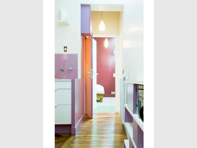 L'envolée chromatique d'un appartement parisien (suite) - Appartement couleurs