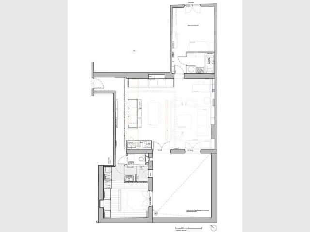 Plan projet - Appartement couleurs