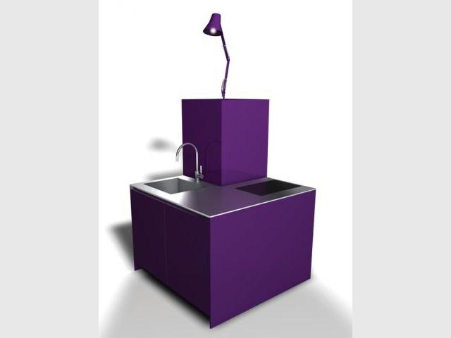 petites cuisines 15 solutions gain de place. Black Bedroom Furniture Sets. Home Design Ideas
