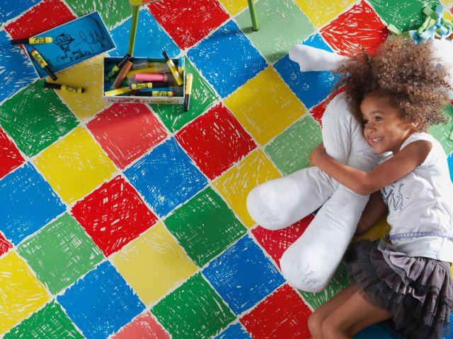 Quel rev tement de sol pour une chambre d 39 enfant - Sol chambre enfant ...