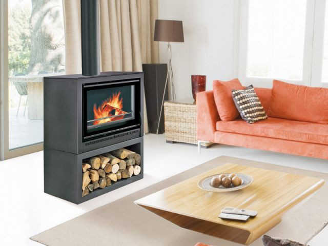 se chauffer au bois les diff rents types de chauffages. Black Bedroom Furniture Sets. Home Design Ideas
