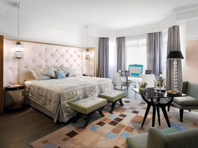Suite des Oliviers, hôtel Martinez - Cannes - En aparté Marc Hertrich Nicolas Adnet