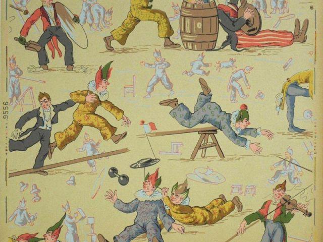 Papier peint pour enfant - Le Cirque - Au royaume des petits princes