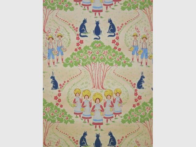 Papier peint pour enfant - Garçons et filles - Au royaume des petits princes