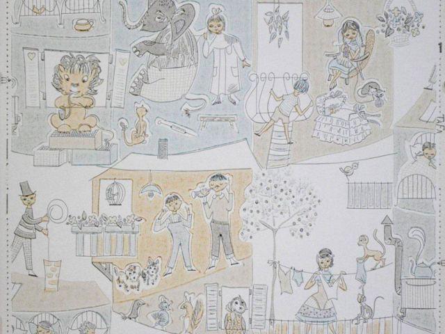 Papier peint pour enfant - Tranches de vies - Au royaume des petits princes