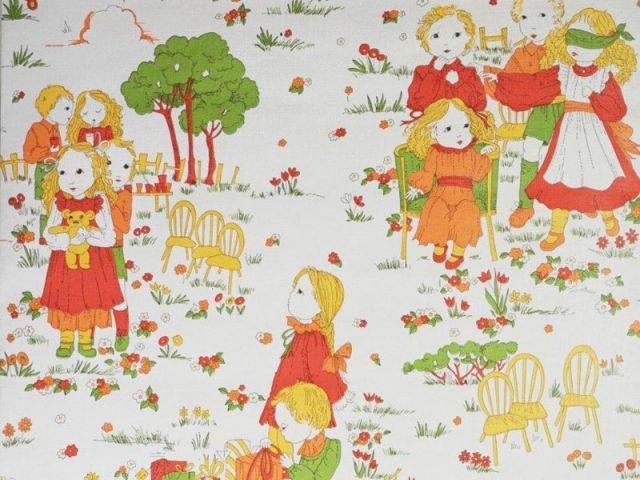 Papier peint pour enfant - Jeux d'enfants - Au royaume des petits princes