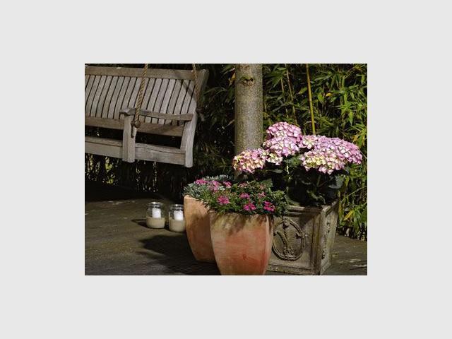 ambiance romantique dans mon jardin d 39 hiver. Black Bedroom Furniture Sets. Home Design Ideas