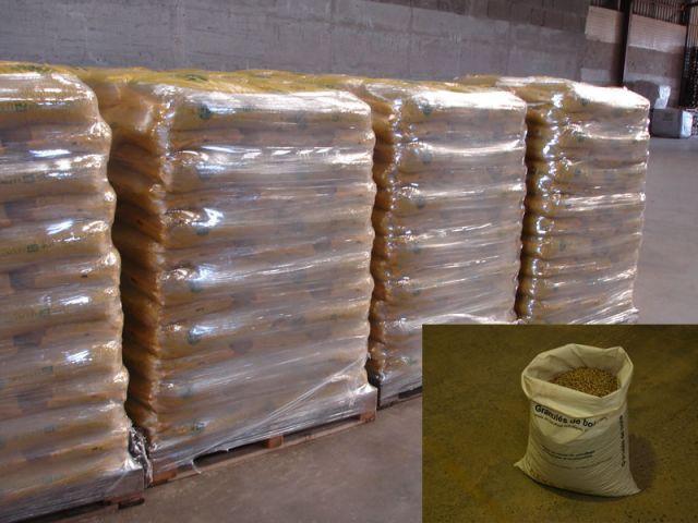 Le conditionnement et le stockage des granulés - Propellet