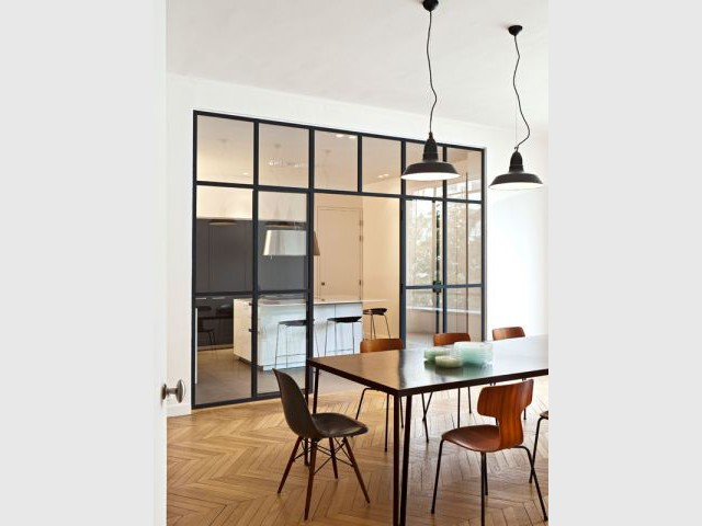interesting id associs with comment fermer une cuisine amricaine. Black Bedroom Furniture Sets. Home Design Ideas