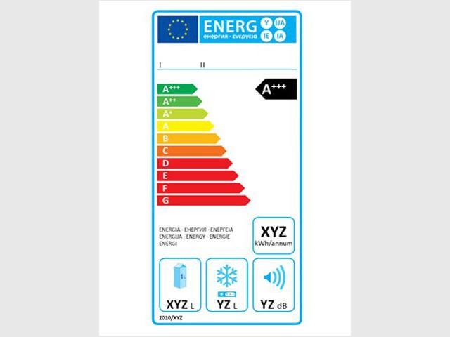 Nouvelle étiquette énergie pour les appareils de froid à absorption de gaz - Nouvelle étiquette énergie