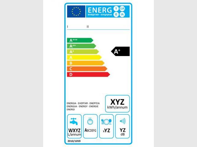 Nouvelle étiquette énergie pour les lave-vaisselle - Nouvelle étiquette énergie